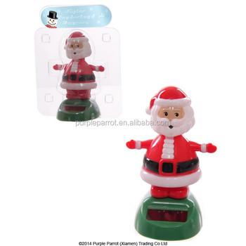 Santa Claus Solar Buddy/solar Powered Toys/ Car Decoration