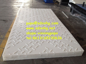 Plastic Diamond Plate And Construction Access Road Mat Or