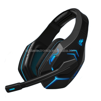 7.1Sound Track LED glowing vibrated gaming headset