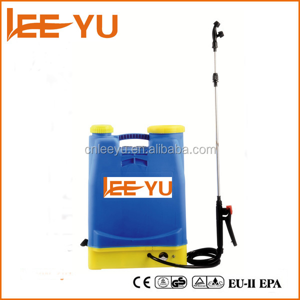 Hot sale 2016 electric sprayer 16L agriculture knapsack battery sprayer 16L sprayer pump