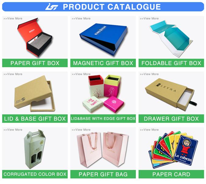 Luxus kundenspezifische quadratische weißen geschenkkarton mit deckel und hochglanz weiß kartons verpackung