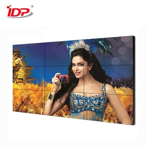 46 inch LCD Video Wall solutions digital Display Screen 1.8mm Narrow Bezel