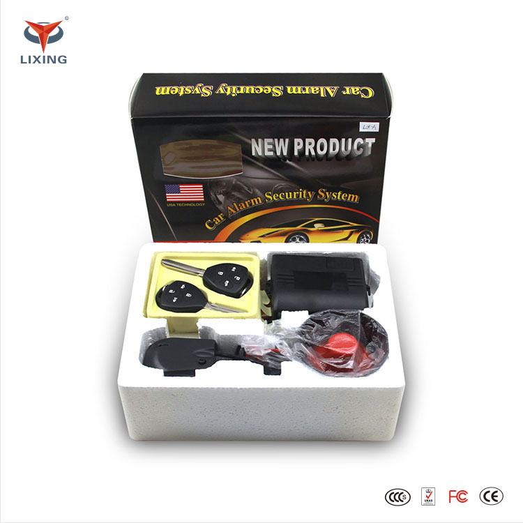 factory price cheap Car Alarm System for South America Market Good quality one way car alarm