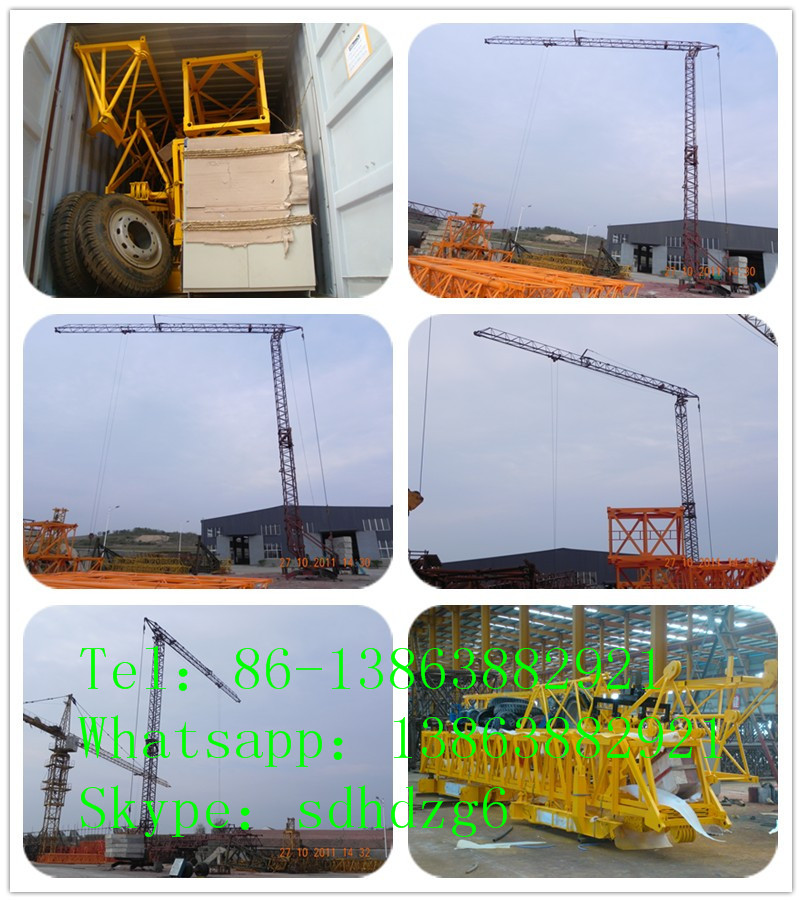 Hongda QTK20 Fast-Erecting tower crane