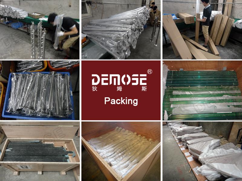 Aluminum U Base Channel/glass Balustrade/railing