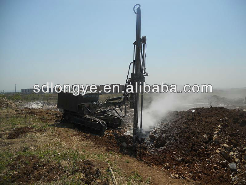 Powerful Rock Blasting Drilling Rigs CTQ-G150Y for sale!!