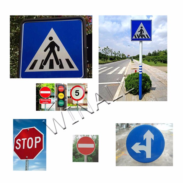 High Way Traffic Sign Construction Road Safety Equipment Signs ...