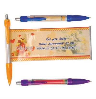 Most Fashionable Hot Selling Promotional Banner Pen