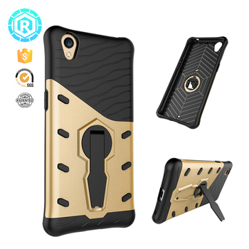 New Black Silicon Tpu Mobile Phone Cover For Oppo A37 Case Stand Shockproof  Back Cover Case For Oppo A37 - Buy Mobile Phone Cover For Oppo