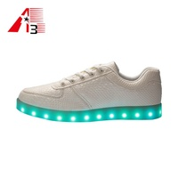 Customize men led light up led dance shoes