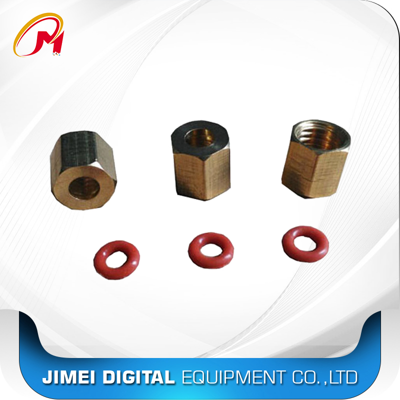 5X Big Damper Resize Adapter//Copper Connector for Roland Mimaki Mutoh