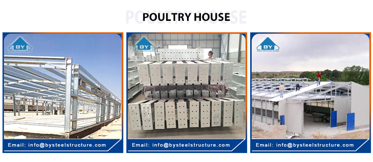 Pheasantry Chicken House Steel Structure Poultry House