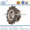 DIN ISO standard weld on hub C45 24b-1 pitch 38.1 roller 25.4 15T roller chain wheels sprocket 1/2*1""