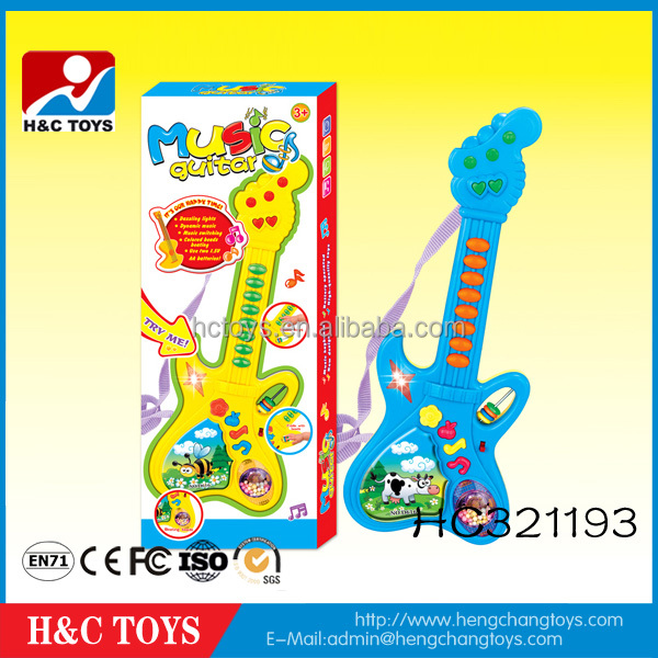 Musical Instruments Toy Plastic Mini Toy Guitar For Kids HC321193