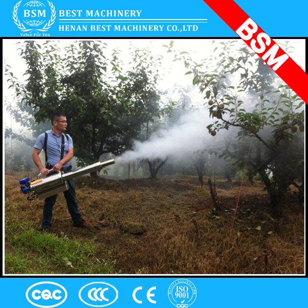 Nigeria greenhouse used Fog water mist fogger for greenhouse cooling/spray misting for trees