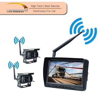 7inch dashboard tft-lcd monitor security camera system wireless system