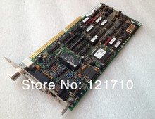 Industrial equipments board Adaptec EMASTER ATS ISA interface Network controller 727001-0104