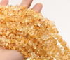 natural citrine chips beads gemstone chips wholesale