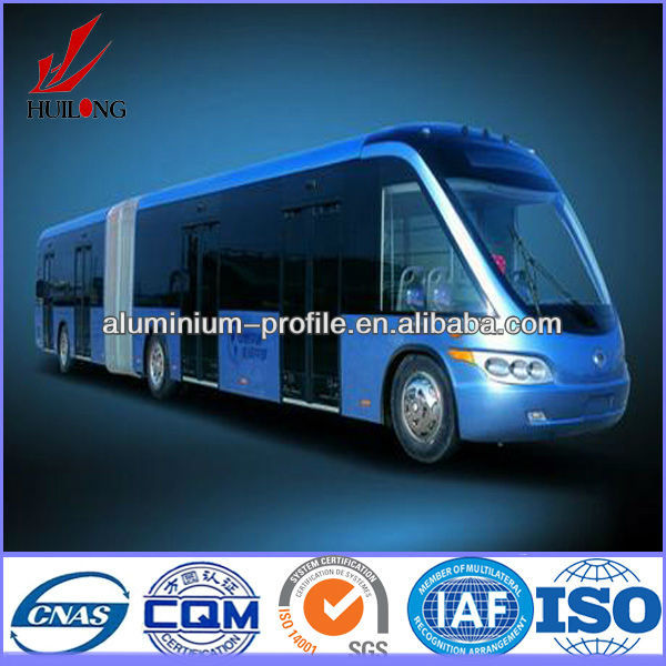 China Zhengzhou hot sale bus aluminum profile