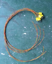 Type K à double isolation <span class=keywords><strong>fil</strong></span> <span class=keywords><strong>de</strong></span> <span class=keywords><strong>Thermocouple</strong></span> pour pwht