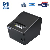 Thermal receipt 80mm paper roll pos printer xp80 driver download usb serial lan interface J80USL