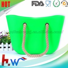 Factory direct sales o bag rubber bag silicone tote bag