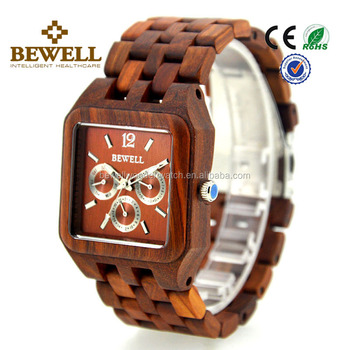 a69c526e43 Luxury men 2018 analog japanese movement wood fastrack watches for men