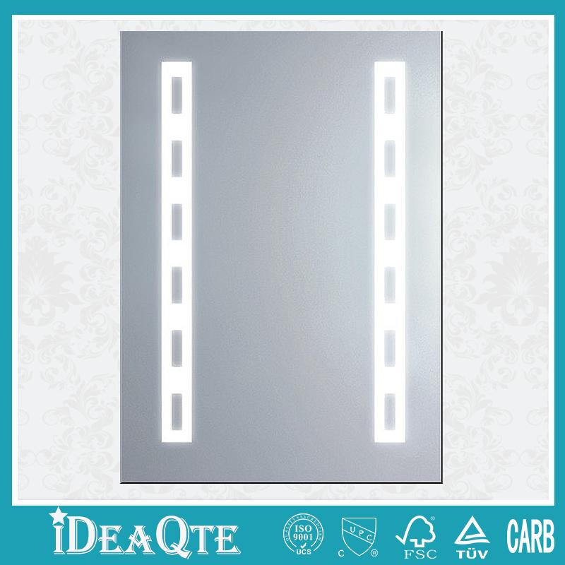 con luz moderno espejo de pared para cuarto de bao