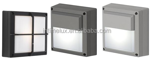 3434-led Charcoal Eyelid Square Gx53 Outdoor Led Wall Light