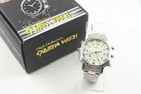 1280*960 H.264 High Tech Voice Recorder Camera Watch