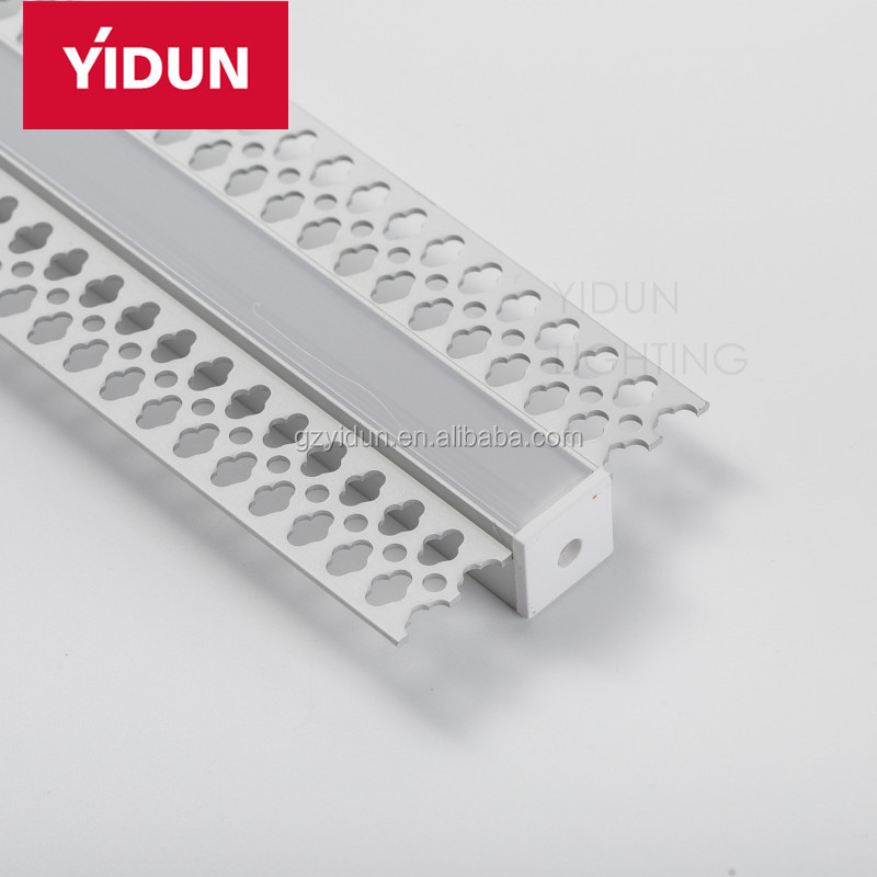 YIDUN Lighting LED Drywall Straight Reveal Bead Aluminum Extrusion Profile
