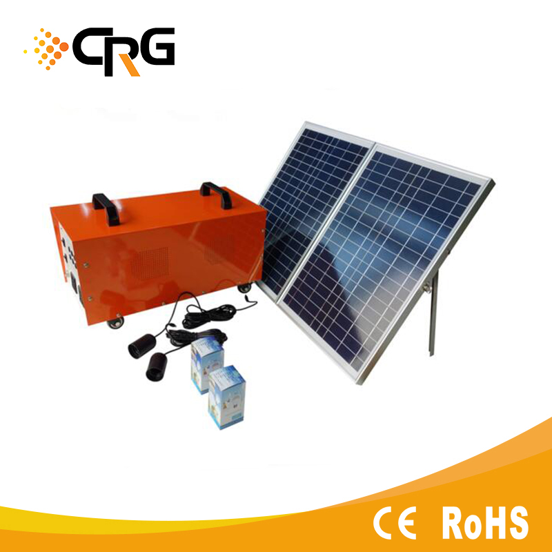 Power star 600w-3kw 12v 24v 48v solar lighting system for rural area