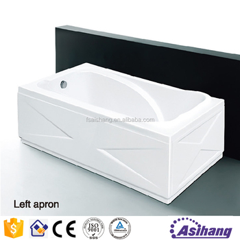 As35015 different types of freestanding acrylic bath tub for Different types of tubs