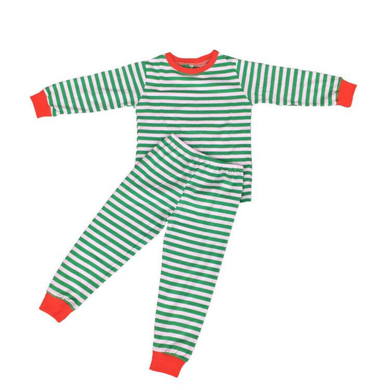 7ea84fc7d4 Newborn toddler girls Christmas pajamas red tops matching red and white  stripes pants outfits