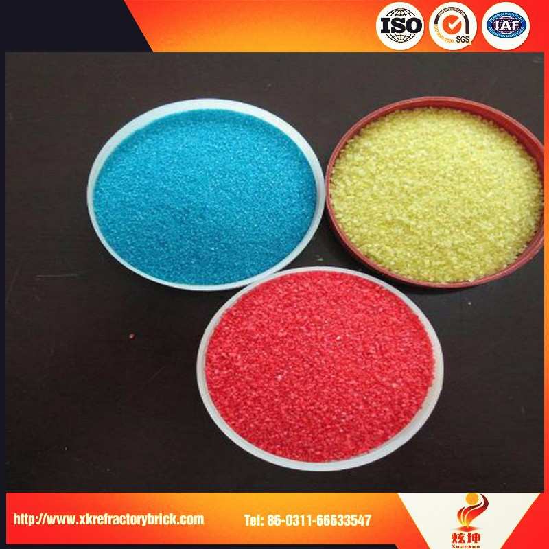 Decor Colour Sand For Vase Color Play Sand From China