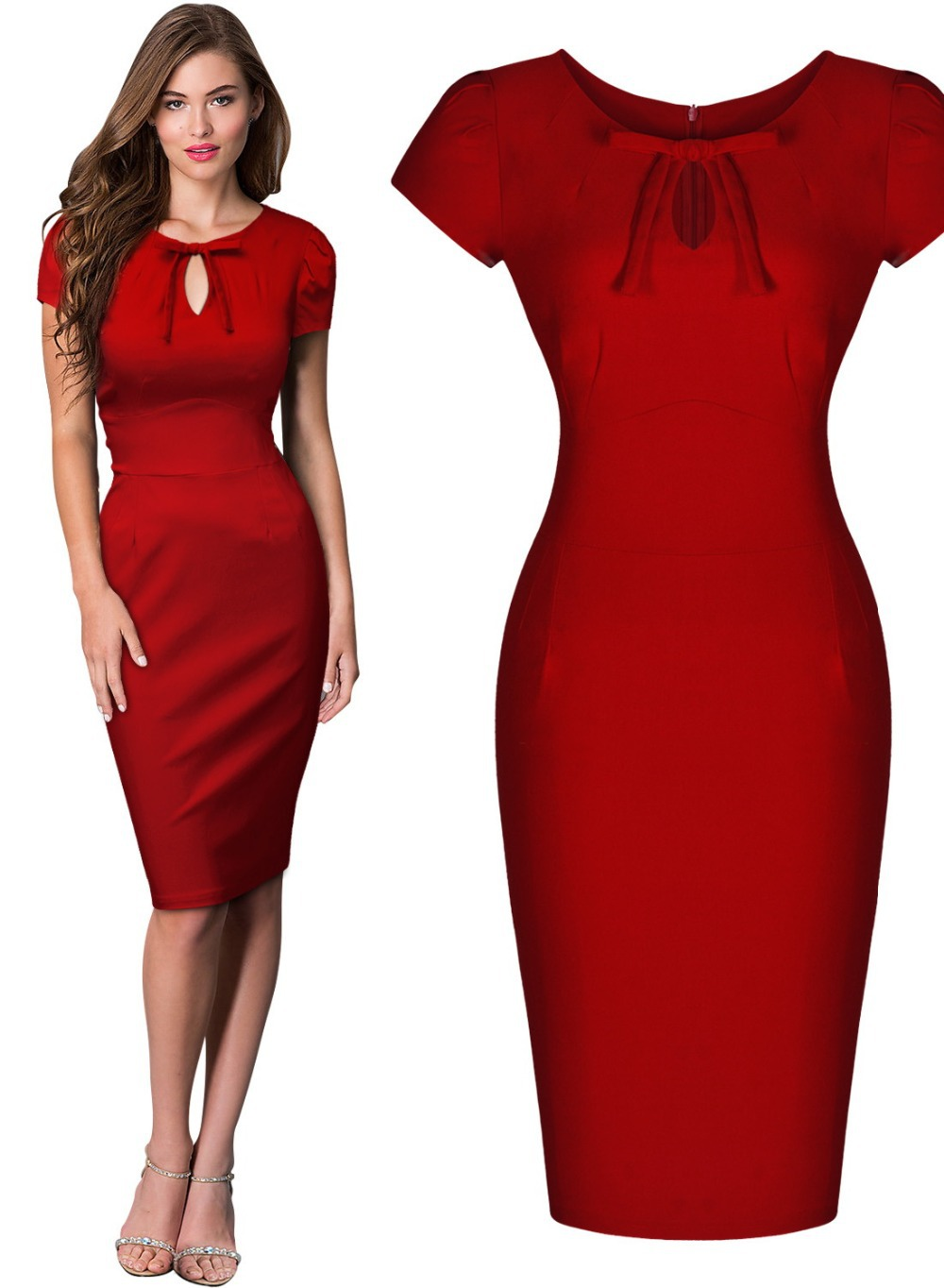 Cheap Retro Wiggle Dress, find Retro Wiggle Dress deals on line at ...
