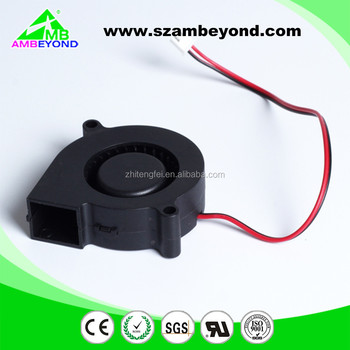 High Speed 4000rpm Silent 50x50x15 3v 5v 12v 50mm Mini Blower Fan ...