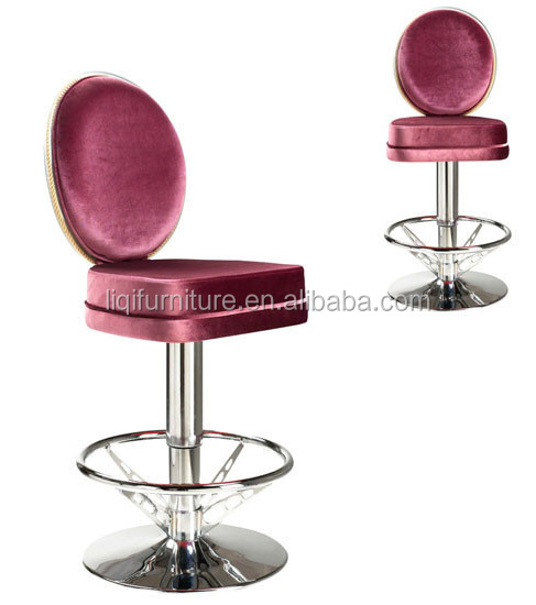 quality European style luxury hotel casino bar chair LQ-BS037