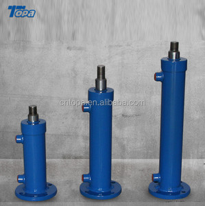 Piston Type Single Action hydraulic press lifting ram for trailer