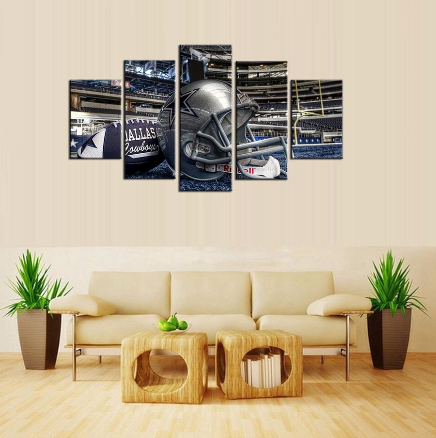 Dallas Cowboys Football Canvas Wall Art: Dallas American Promotion-Shop For Promotional Dallas
