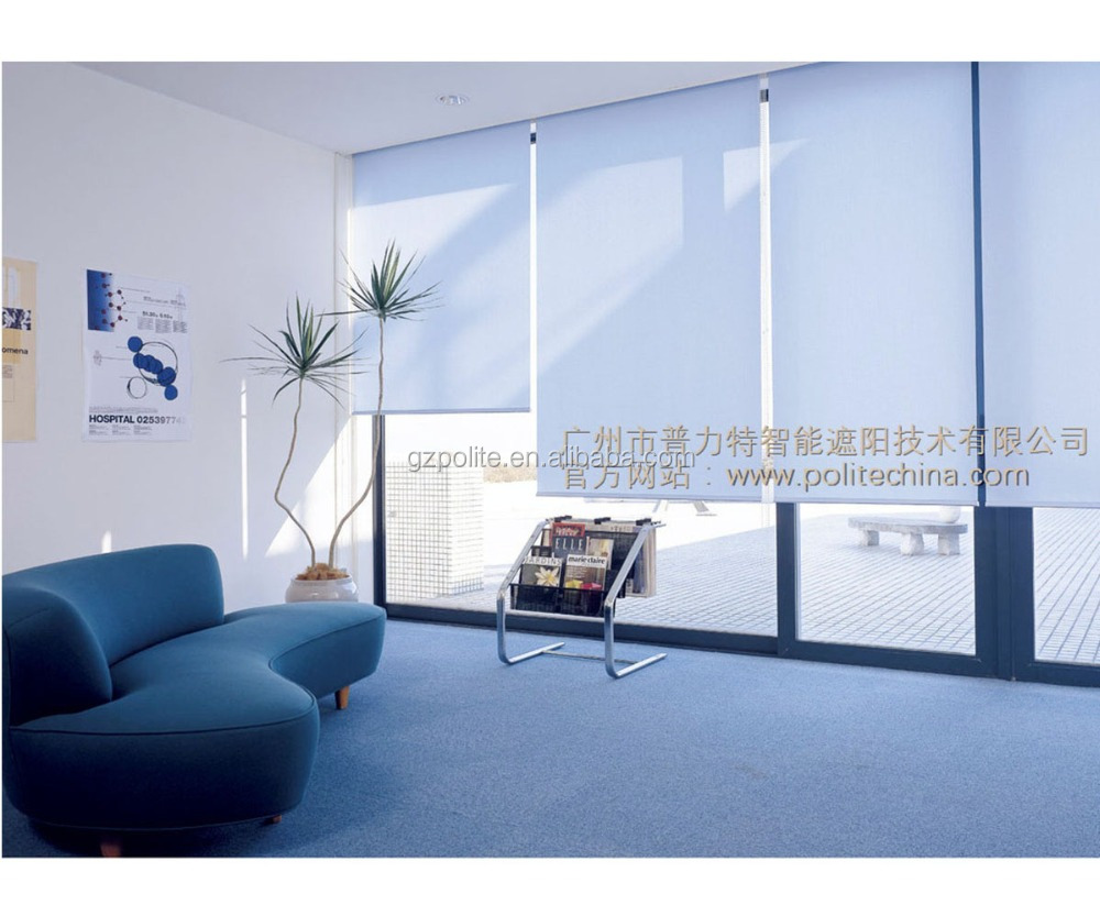 china factory electric roller blinds roller curtain best selling for window