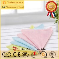 Three mounted towel manufacturers, wholesale bamboo fiber Miss Mao Jin Cleansing Beauty towel children small towel to wipe swea