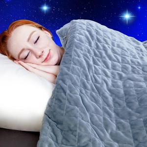 OEM and ODM Glass Beads Filling Weighted Blanket with cover