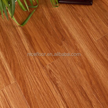 Healthy indoor waterproof E1 grade AC4 floor wood composite flooring