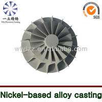 Nickel-based alloy investment casting used for outboard motor