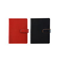 Hard cover executive paper ring binder a5 notebook