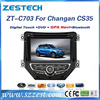 ZESTECH Factory price car audio for Changan CS35 oem gps navigation car players