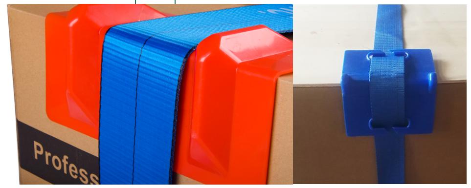 कस्टम 4 इंच नीले पीवीसी भारी शुल्क प्लास्टिक की चटाई कोने रक्षक