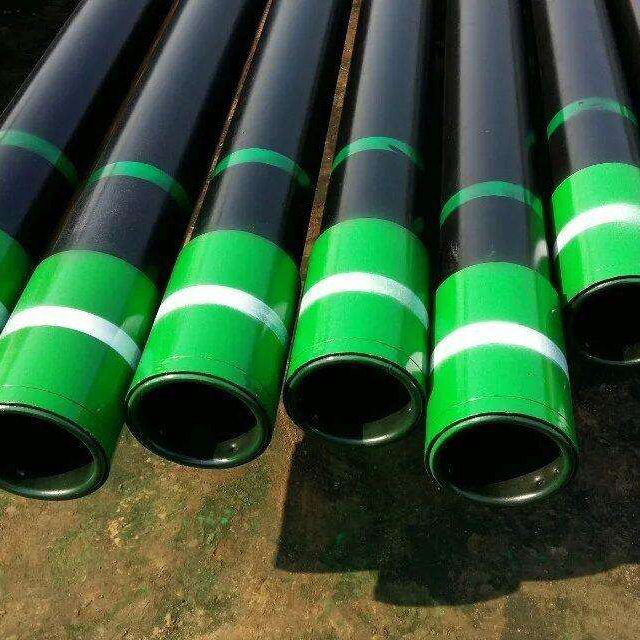 "Oil casing 9 5/8"" api 5ct steel casing pipe with standard coupling"