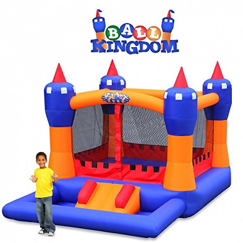 Blast Zone Ball Kingdom Inflatable Bounce House with Balls Pit by Blast Zone